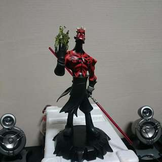 Star Wars Animated Darth Maul Limited Edition Maquette (Gentle Giant)