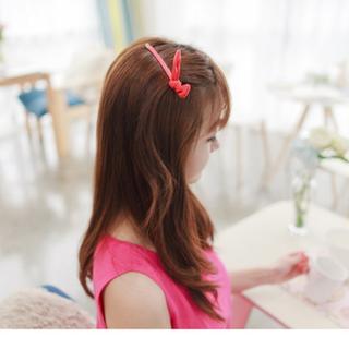 [現貨]韓款兔耳髮夾(一字夾 瀏海夾 頭飾)