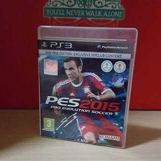 ⚽ PES 2015 PS3 ⚽