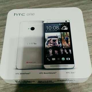 (待寄出)🔊HTC One(M7)手機-銀色32G📱