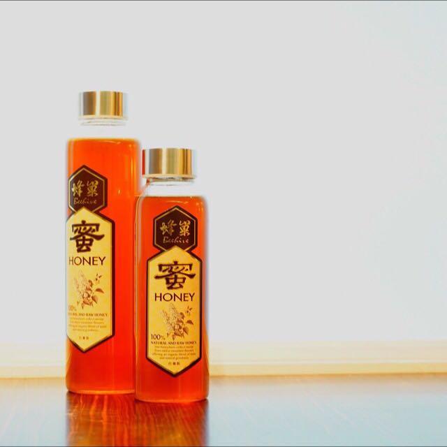 《蜂巢》100% 台灣產 蜂蜜 百花蜜 玻璃瓶 水瓶裝