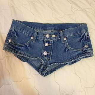 超短小熱褲