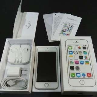iPhone 5s 金色 64G 日本帶回