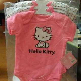Hello Kitty包屁衣三件組9M(美國購回)全新
