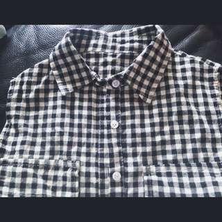 格衫 無袖