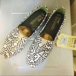 美國購回toms鞋 us7.5號 1000含運