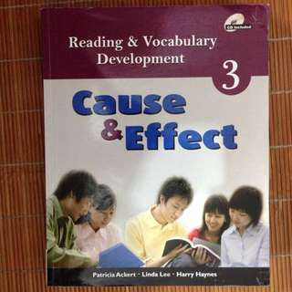 Reading & Vocabulary Development 3: Cause & Effect
