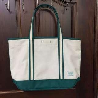 日本porter綠色大托特包