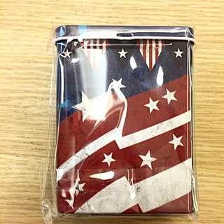 美國旗小鐵盒