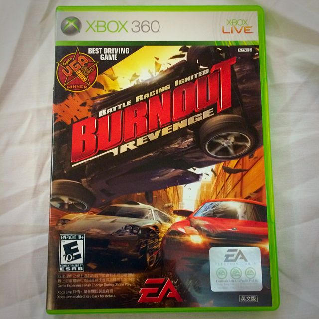 2nd Hand [xbox360] BURNOUT 橫衝直撞