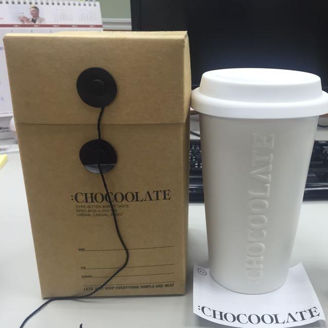 chocoolate 陶瓷杯 咖啡杯 茶杯 隨行杯 手拿杯 限量