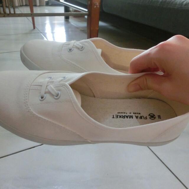 富發牌休閒鞋(白)