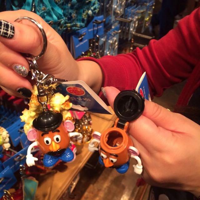 日本東京海洋迪士尼蛋頭鑰匙圈