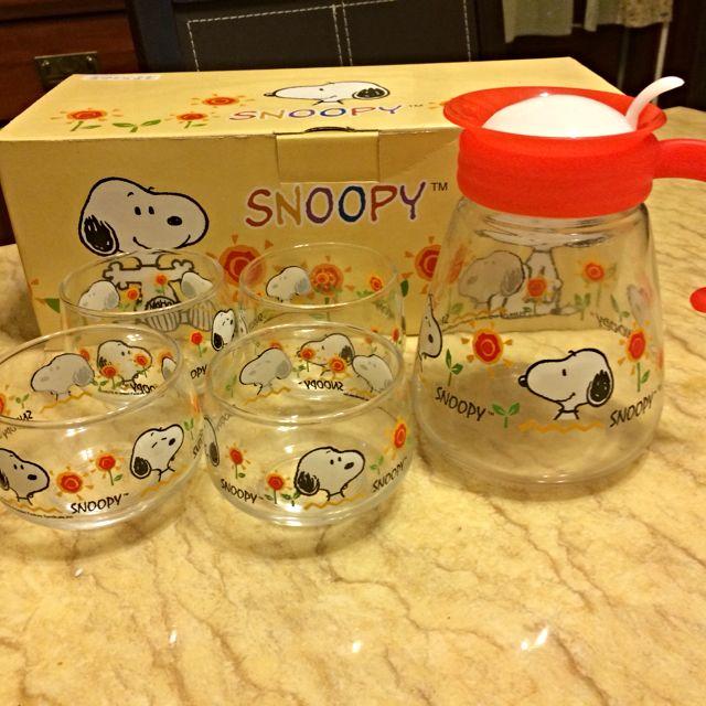 Snoopy 史努比茶具組(台灣製)