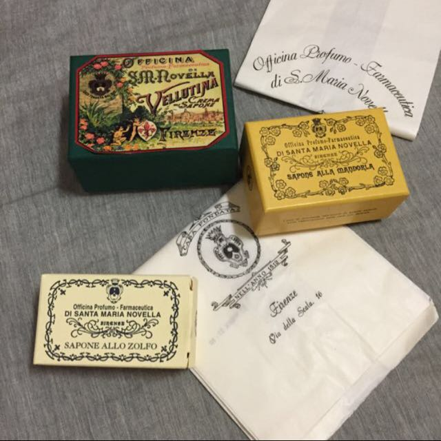 義大利 百年老店 香皂 洗臉&身體 Officina Profumo Farmaceutica di Santa Maria Novella 聖塔瑪莉亞諾維拉