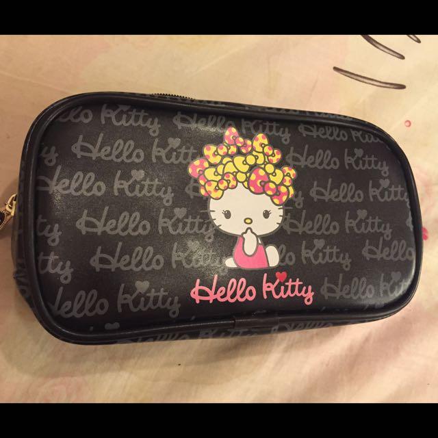 化妝包 「kitty的喔」