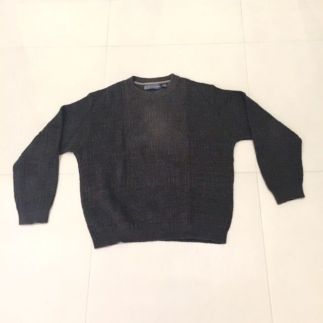 Authentic Oscar De La Renta Mens Sweater Mens Fashion On Carousell