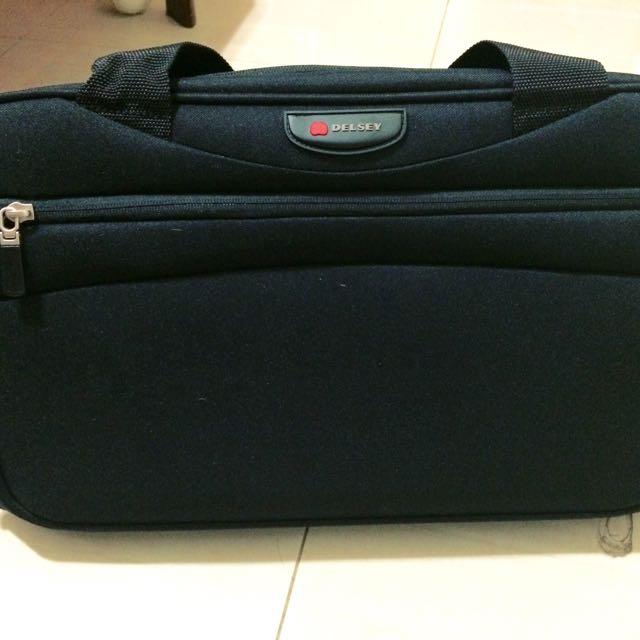 Delsey法國大師旅行袋/運動包