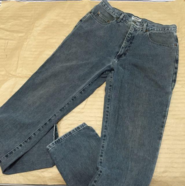 GUESS 美國製 直筒牛仔褲