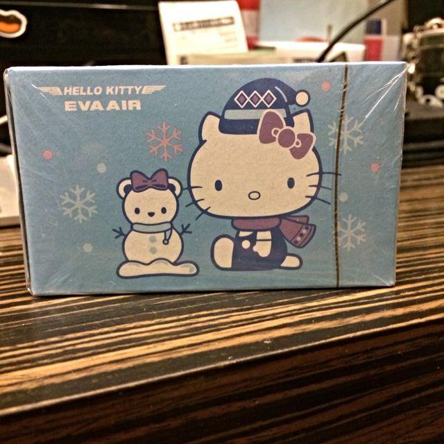 長榮hello Kitty 撲克牌