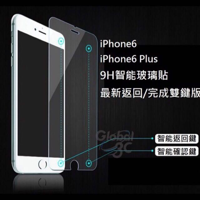 iphone6/6plus 「智能觸控玻璃貼」