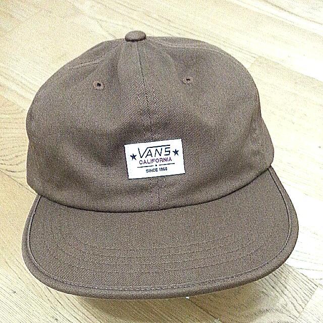 Vans california 咖啡軟帽