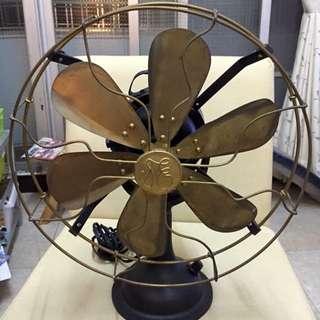 九成新復古電扇