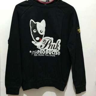 Puremilk Black Sweatshirt