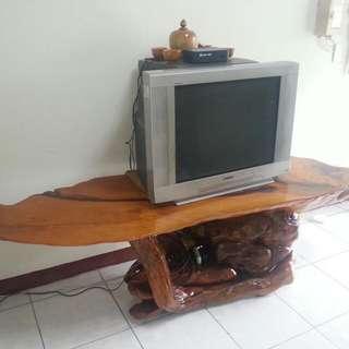 奇木松羅原木紅桌