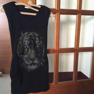個性老虎洋裝🐯