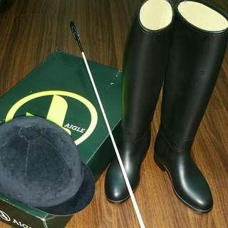 Jockey accessories Cap Boots Whip