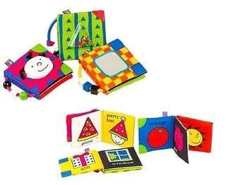 奇智奇思Ks Kids Playful Pages 聰明寶寶感官學習布書3本一組 9成新 附收藏袋
