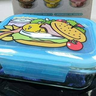 【保留中】蛋黃哥耐熱玻璃密封保鮮盒