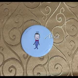 【Anna】免運費!摔不壞(全新)隨身鏡 小圓鏡