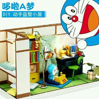 (Instock) DIY Miniature House Doraemon