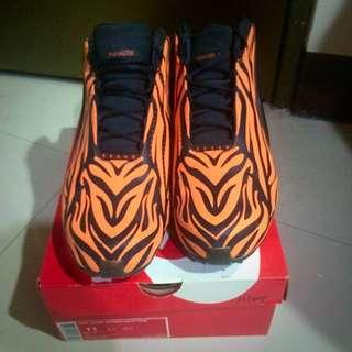 正品 虎紋 Nike zoom AIR 籃球鞋  US11