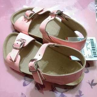 漆皮/童涼鞋