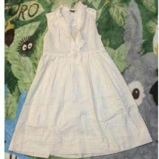 iroo 白洋裝 尺寸38
