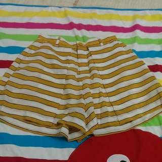 LOWRYS FARM 條紋褲裙
