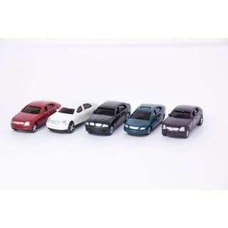 5x Model Car @ 1:100 Scale