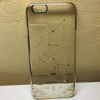 iPhone 6 水瓶座透明手機殼