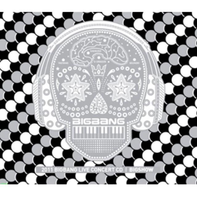 2011 Bigbang big show音源CD