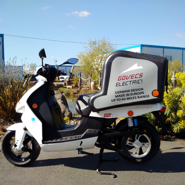 2015 govecs go t3 4 electric delivery scooter bike moped