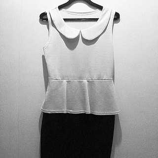 Peplum Working Dress
