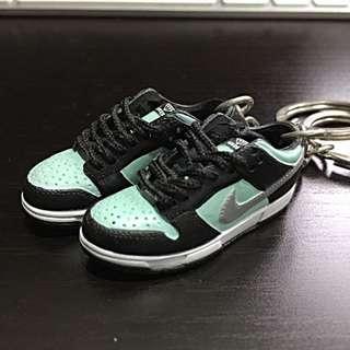 Nike SB Tiffany 1/6 Scale Shoes Keychain