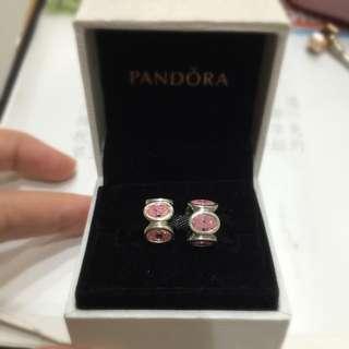 Pandora 潘朵拉 粉色皓石