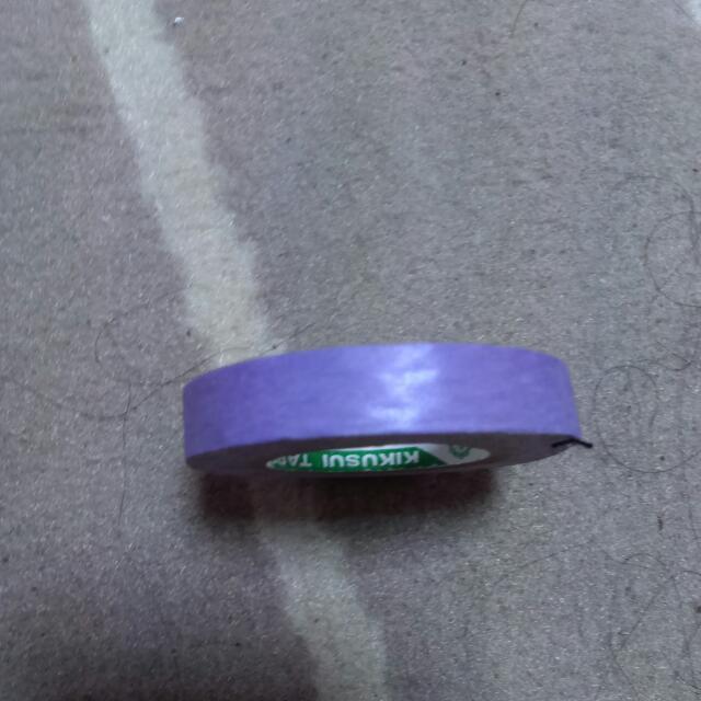紫色紙膠帶