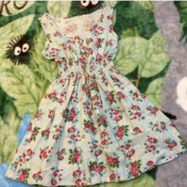 美國購入花洋裝