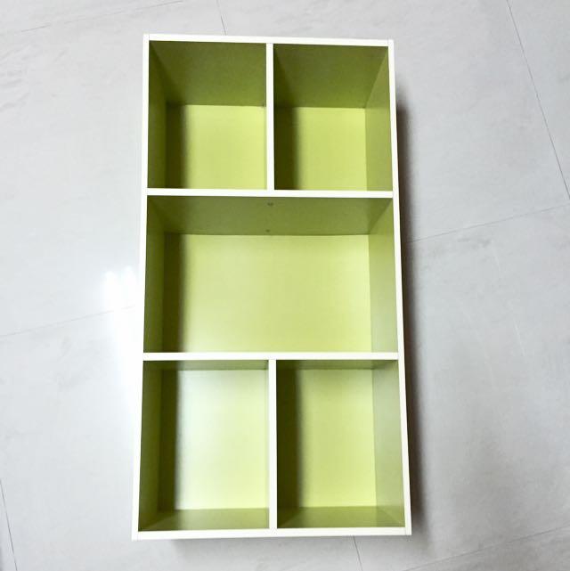 (已預訂)蘋果綠 5格式 三層櫃