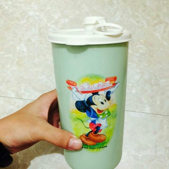 [二手品]迪士尼正版 塑膠水壺